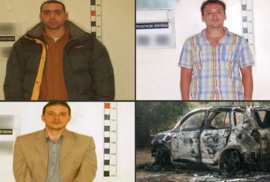 Αυτοί είναι οι τρεις δράστες της ληστείας στο Δίστομο - Ανάμεσά τους ο υπαρχηγός της ομάδας Μαζιώτη, Γιώργος Πετρακάκος