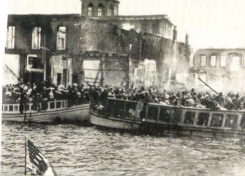 ΣΜΥΡΝΗ-ΑΦΙΕΡΩΜΑ: Η πυρπόληση,όπως την περιέγραψαν αυτόπτες μάρτυρες