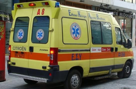 Αχαΐα: Αεροπόρος τραυματίστηκε σοβαρά σε τροχαίο