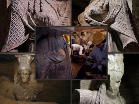 Αμφίπολη: Μία ανάσα από τον 3ο θάλαμο του γιγαντιαίου τάφου - Βρέθηκαν κομμάτια της `ακρωτηριασμένης` Καρυάτιδας - Τι κίνηση έκαναν με τα χέρια τους