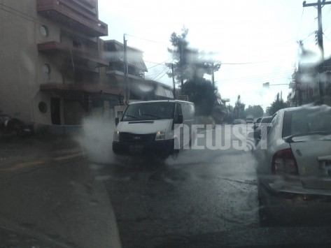 Μεγάλα προβλήματα από την καταιγίδα - Που `έμειναν` αυτοκίνητα - Επιχειρήσεις απεγκλωβισμού οδηγών