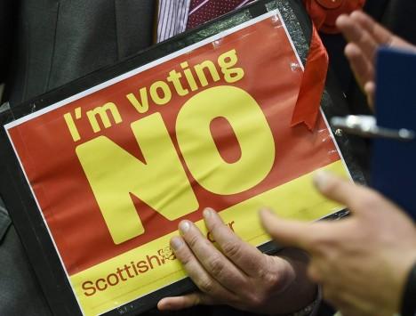55,3% όχι στην ανεξαρτησία της Σκωτίας – Κάμερον: Ακούσαμε, έρχονται περισσότερες εξουσίες