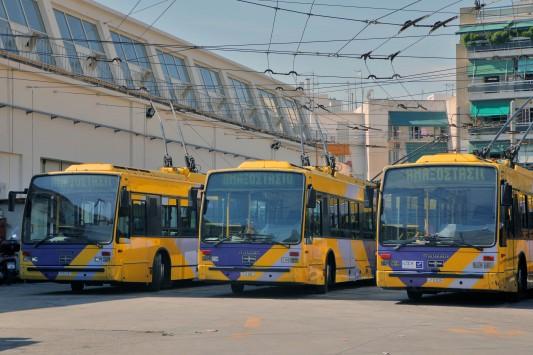 Χωρίς τρόλεϊ 11:00 με 16:00 η Αθήνα - Αύριο στάση εργασίας στο Μετρό