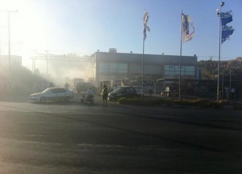 Φρικτός θάνατος από πυρκαγιά σε super market στη Ρόδο - Βρέθηκε απανθρακωμένο πτώμα - Δεν μπορούν ούτε το φύλο να αναγνωρίσουν