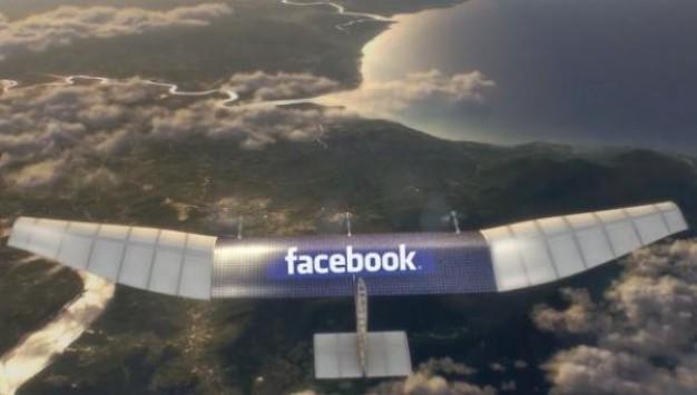 Το Facebook θέλει να πάει το internet παντού με την βοήθεια drones!