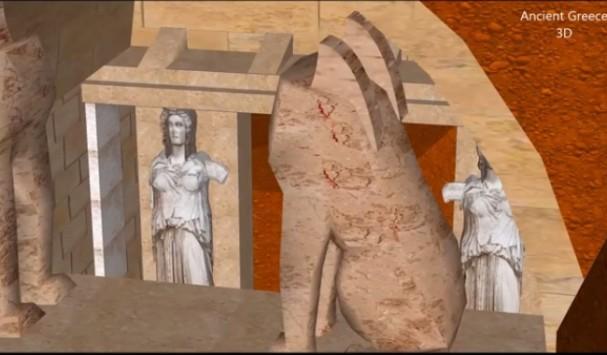 Αμφίπολη: Δείτε το νέο βίντεο με 3D απεικόνιση του αρχαίου τάφου