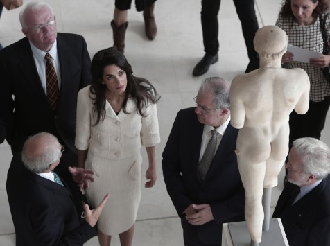 Αμάλ Αμαλουντίν: Monuments… woman στο Μουσείο της Ακρόπολης (ΦΩΤΟ)
