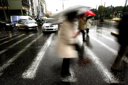 Ξεκινούν οι βροχές από σήμερα – Αλλάζει ο καιρός