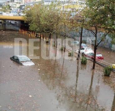 Απίστευτες εικόνες καταστροφής από την κακοκαιρία στην Αθήνα! ΦΩΤΟ