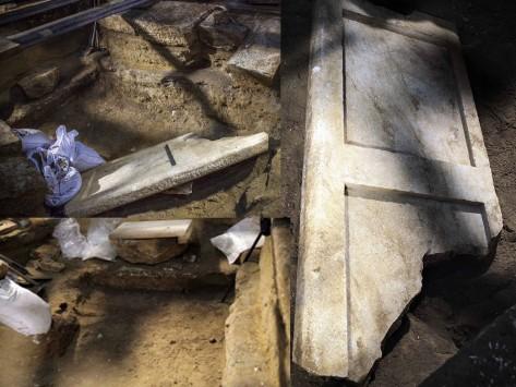 """Αμφίπολη: Ο τάφος συνεχίζει! Βρέθηκε """"τάφρος"""" κάτω από το πάτωμα του τρίτου θαλάμου"""