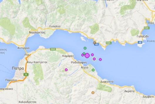 Αναστάτωση στο Αίγιο από σεισμό 4,8 Ρίχτερ - Βγήκαν έξω από τα σπίτια τους οι κάτοικοι - Έγινε αισθητός σε όλη την Πελοπόννησο