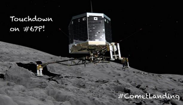 Πρώτη φορά στα χρονικά: Προσεδαφίστηκε το ρομπότ Philae στον κομήτη Tchouri - LIVE ΕΙΚΟΝΑ