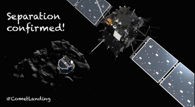 Η πιο μεγάλη ώρα: Το ρομπότ Φίλαι έτοιμο να προσκολληθεί στον κομήτη Tchouri – Θα καλυφθεί LIVE!