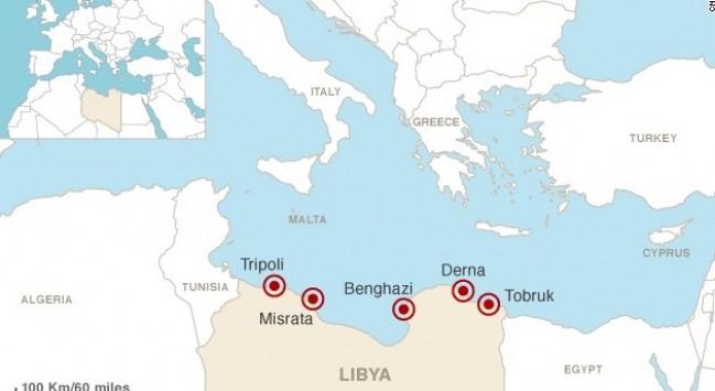 Μια ανάσα από την Κρήτη οι τζιχαντιστές! Κατέλαβαν την πόλη Ντέρνα που απέχει μόλις 200 ναυτικά μίλια από τις ακτές της ΕΕ, λέει το CNN