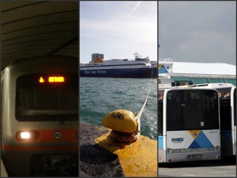 Πως θα κινηθούν τα Μέσα Μεταφοράς την Πέμπτη στην απεργία της ΓΣΕΕ και της ΑΔΕΔΥ