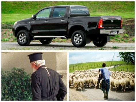 Κρήτη: Ο κλέφτης του μαύρου αγροτικού βρήκε τις λύσεις για να το κυκλοφορεί ξέγνοιαστος στο χωριό!
