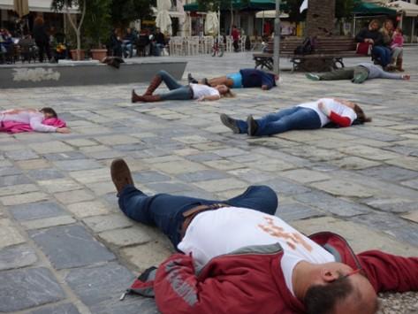 Συγκλονιστική διαμαρτυρία κατοίκων της Σάμου: Πόσο αίμα πια; (ΦΩΤΟ-ΒΙΝΤΕΟ)