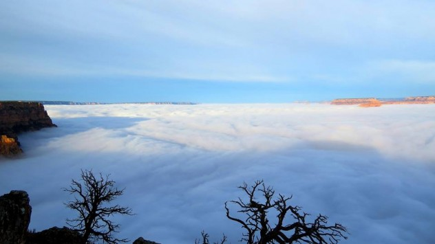 `Χάθηκε` το Γκραν Κάνιον - Εκπληκτικές εικόνες
