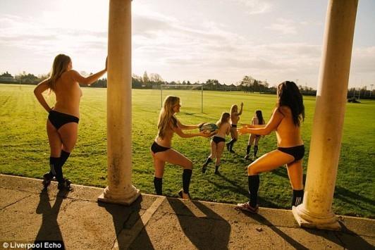 Σέξι αθλητριες... γδύθηκαν για φιλανθρωπικό σκοπό! (ΦΩΤΟ)