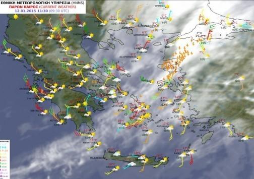 Κακοκαιρία με χιόνια και ισχυρές καταιγίδες τις επόμενες ώρες - Ποιες πόλεις θα πληγούν - Χιόνια ξανά στην Αττική