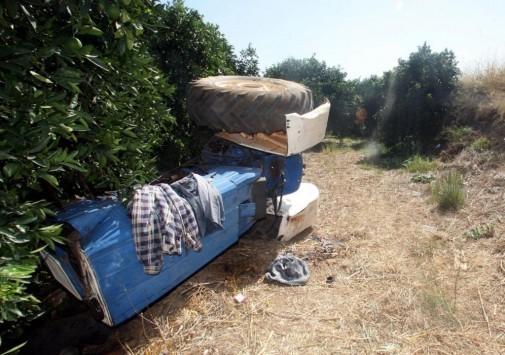 Νεκρός ηλικιωμένος  που καταπλακώθηκε από το τρακτέρ του στη Μεσσηνία
