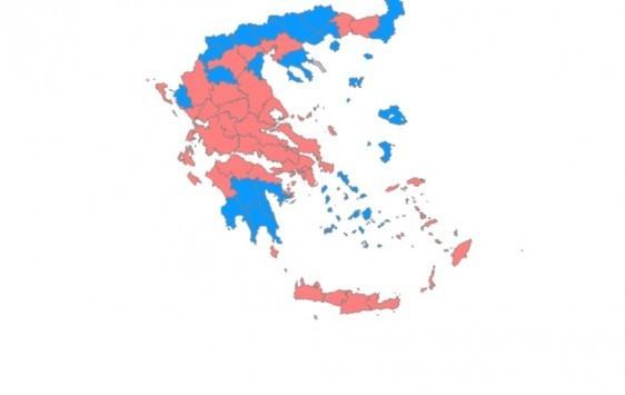 Αποτελέσματα 2015: Αλλάζει ο χάρτης της Επικρατείας! Τρίτο κόμμα η Χρυσή Αυγή και τελευταίο το ΠΑΣΟΚ