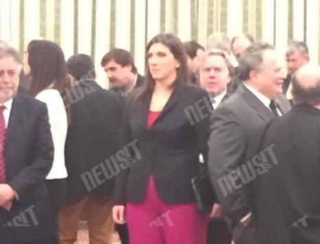 Χαμός για την παρουσία της Ζ. Κωνσταντοπούλου στην ορκωμοσία ενώ δεν είναι καν Πρόεδρος της Βουλής