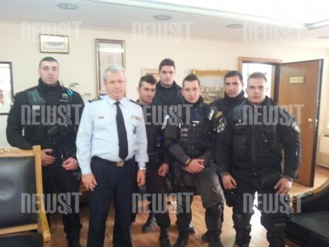 Αυτοί είναι οι αστυνομικοί της ΔΙΑΣ που έπιασαν τον επικίνδυνο ληστή στα Πετράλωνα