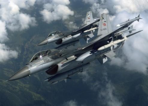 Τούρκικη πρόκληση - 6 μαχητικά αεροσκάφη πάνω απο ελληνικά νησιά!