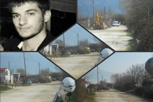 Φωτογραφίες από το σημείο που βρέθηκε το άψυχο σώμα του 20χρονου Βαγγέλη Γιακουμάκη - Δίπλα του βρέθηκε ένα μαχαίρι