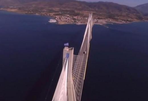 Δυτική Ελλάδα: Το βίντεο που κάνει θραύση στο youtube από τη γέφυρα Ρίου Αντιρρίου - Δείτε τις εικόνες!