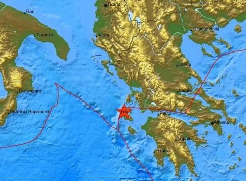 Σεισμός 4,3 ρίχτερ ταρακούνησε την Κεφαλονιά