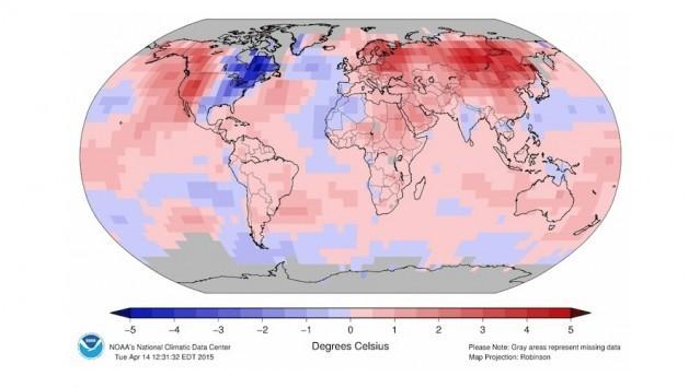 Καιρός: To 2015 ήταν η θερμότερη χρονιά στην ιστορία;