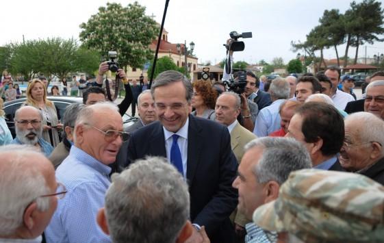 Στημένη η επίθεση στον Αντώνη Σαμαρά λέει η ΝΔ και δείχνει... ΣΥΡΙΖΑ