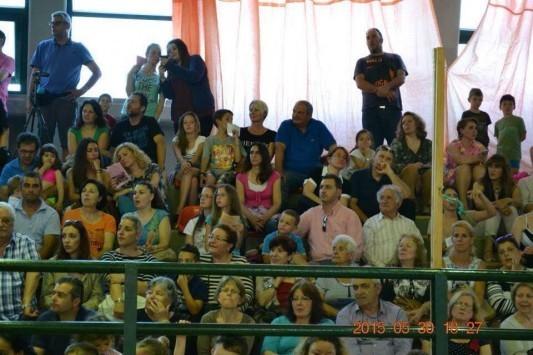 Στην σχολική γιορτή η οικογένεια Καραμανλή - ΦΩΤΟ
