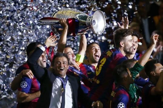 Τελικός Champions League 2015: Το photostory της πρωταθλήτριας Μπαρτσελόνα