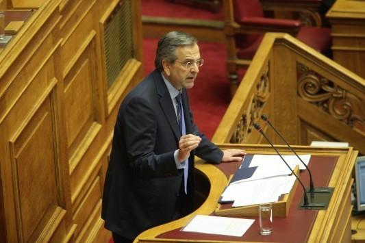 Σαμαράς: Καλώ τον Τσίπρα σε τηλεοπτικό debate με όλους τους πολιτικούς αρχηγούς - Σχέδιο Τσίπρα για επιστροφή στη δραχμή