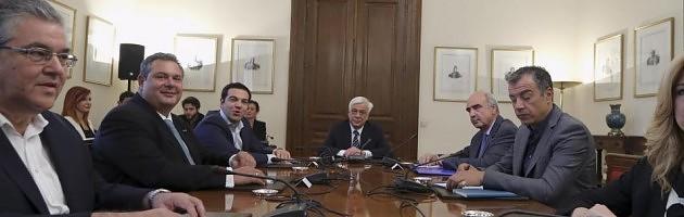 Συμβούλιο πολιτικών αρχηγών: Μέρκελ και Τσίπρας συμφώνησαν να παρουσιαστεί αύριο νεα ελληνική πρόταση