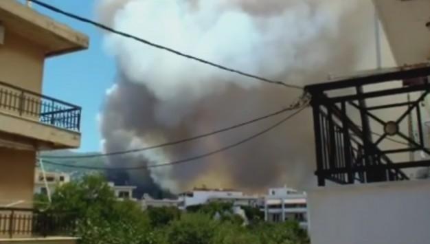 Φωτιά στη Λακωνία: Μια ανάσα από τη Νεάπολη η φωτιά - Δραματικές ώρες για τους κατοίκους