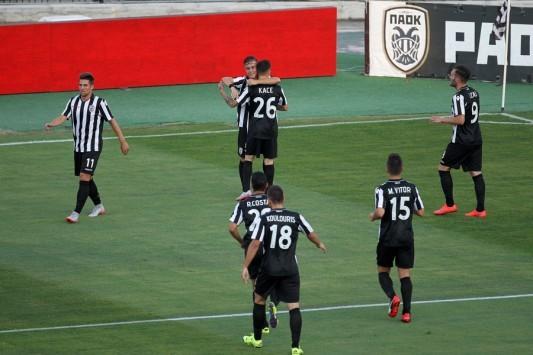 Καταιγιστικός ο ΠΑΟΚ! Με εξάρα συνεχίζει στο Europa League