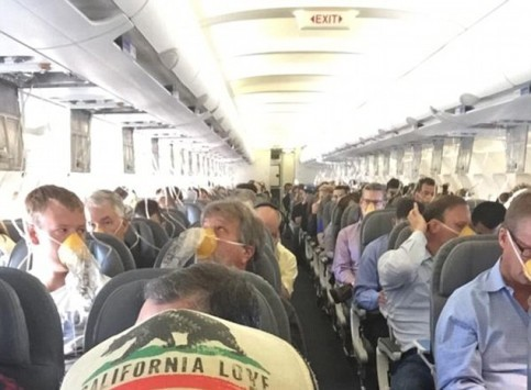 Τρόμος στον αέρα: Λιποθυμούσαν οι επιβάτες