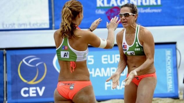 Beach Volley: `Βασίλισσες` στην άμμο Αρβανίτη - Τσιαρτσιάνη