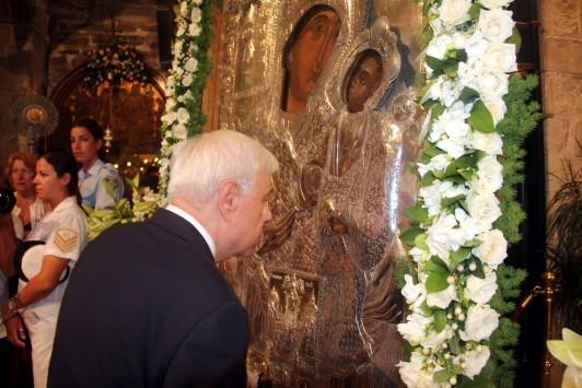Τήνος: Παρουσία Παυλόπουλου - Καμμένου ο εορτασμός της Μεγαλόχαρης