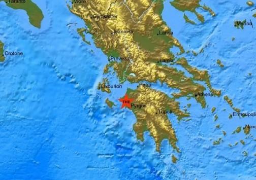 Σεισμός ταρακούνησε τη Δυτική Ελλάδα