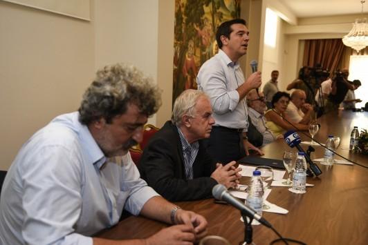Εκλογές 2015 - Τσίπρας σε Μεϊμαράκη: Δεν σε θέλω ούτε για αυτοφωράκια ούτε για συνεργάτη