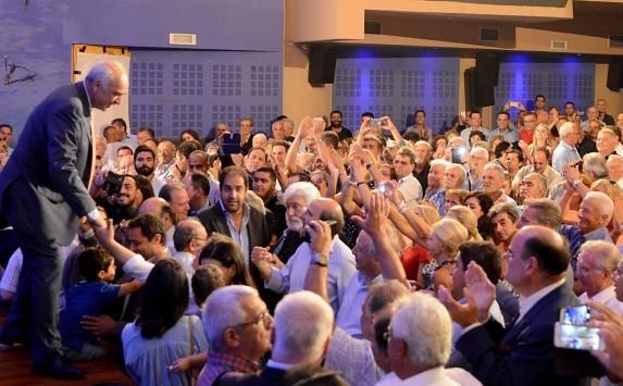 Εκλογές 2015: Ο Β. Μεϊμαράκης ζήτησε ισχυρή εντολή από την Κρήτη