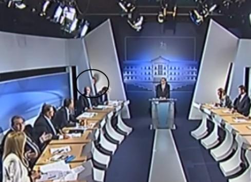 Debate πολιτικών αρχηγών: Το... κορυφαίο στιγμιότυπο που λίγοι κατάλαβαν (Βίντεο)!