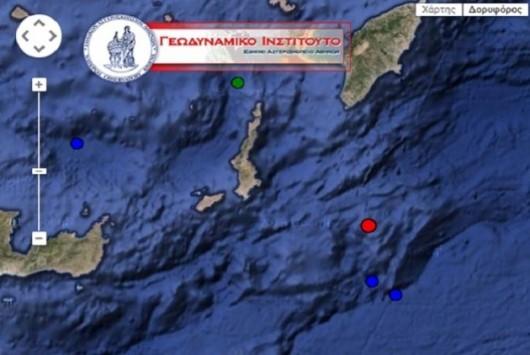 Σεισμός 4,9 Ρίχτερ στα Δωδεκάνησα