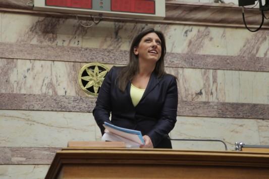 `Αμπαρώθηκε` η Ζωή Κωνσταντοπούλου στη Βουλή - Άλλαξε και κλειδαριές
