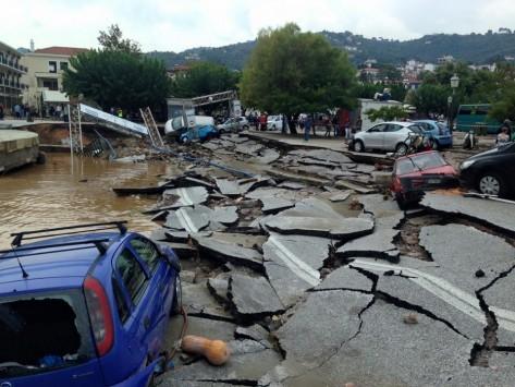 Σκόπελος: Σε κατάσταση έκτακτης ανάγκης το νησί! Ανυπολόγιστες οι καταστροφές από την κακοκαιρία